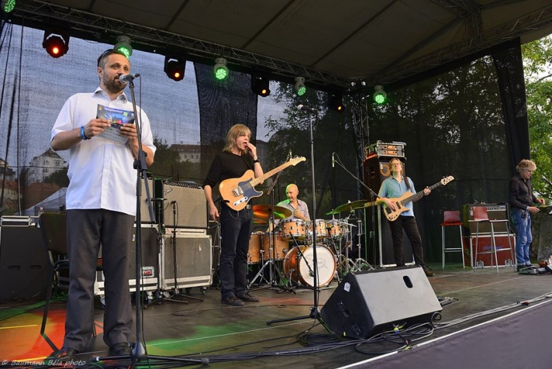 Fényképek - Mike Stern & Didier Lockwood Band - VeszprémFest FestGarden / Műsorvezető: Keresztes János / Fotó: Baumann Béla